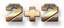 2+2 логотип телеканала