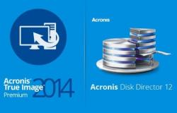 Acronis True Image 2014 Premium 17.6673 + Acronis Disk Director 12.0.3223 BootCD