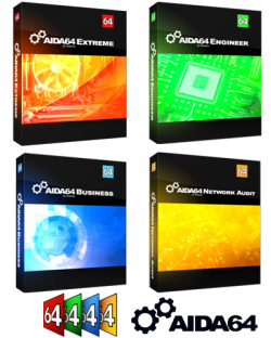 AIDA64 Extreme / Engineer / Business / Network Audit 6.00.5100 RePack by KpoJIuK k