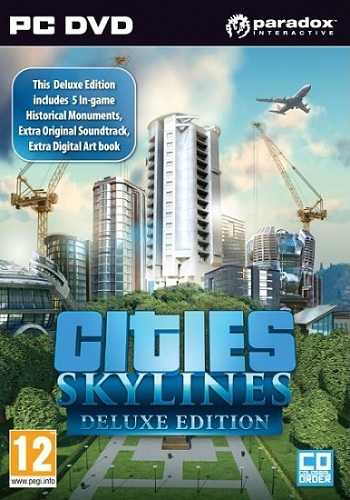 Cities: Skylines - Deluxe Edition [v 1.2.2 + 3 DLC] RePack от xatab