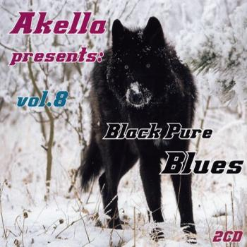 Va Akella Presents Black Pure Blues Vol 8 2cd 2010