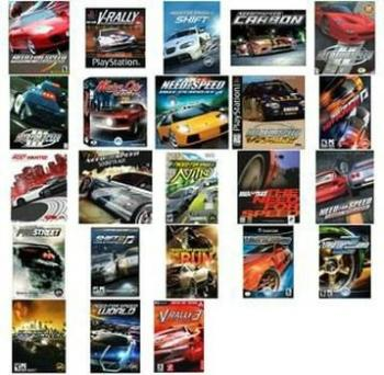 OST Need for Speed All soundtracks collection (of 23 games + bonus) / Вся коллекция саундтреков Need for Speed (из 23 игр+ бонус)