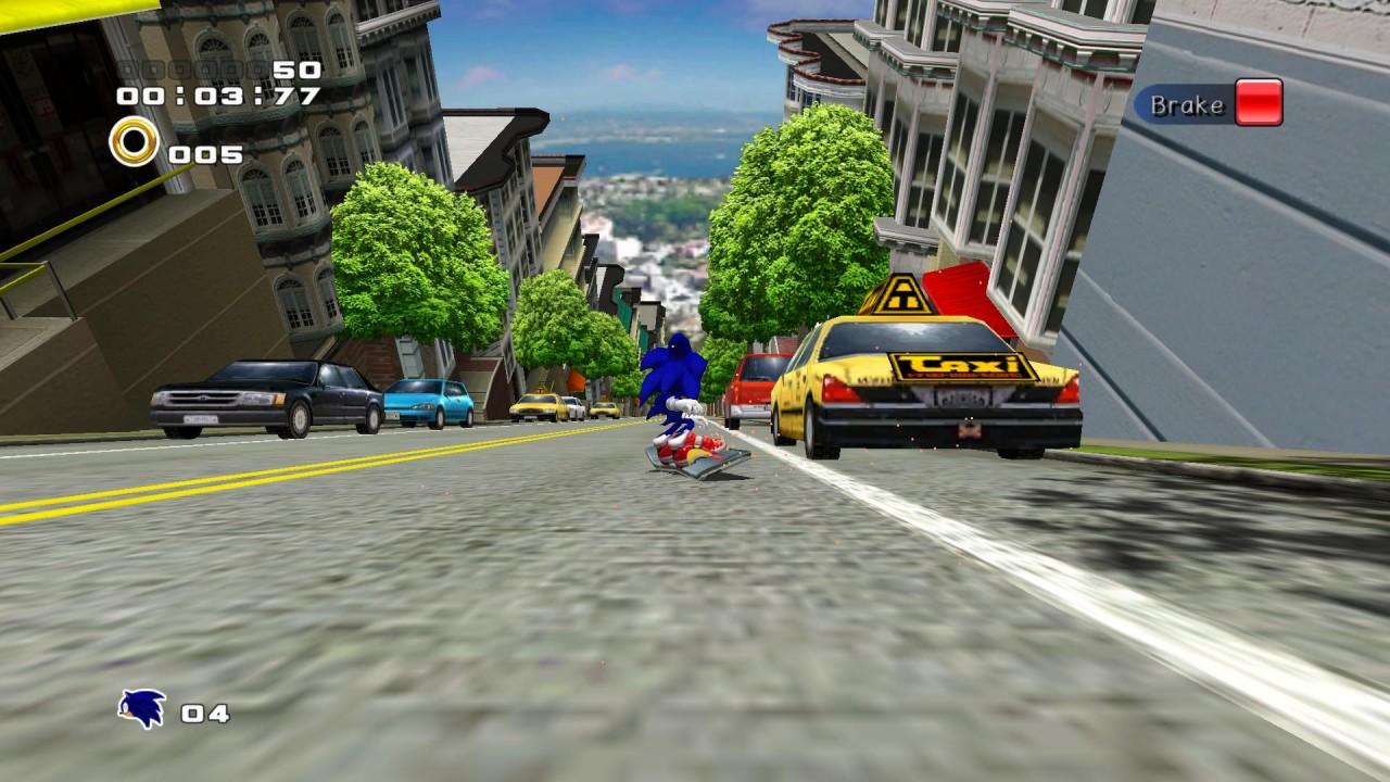 Sonic adventure 2: battle (русская версия) // трансляция в честь.