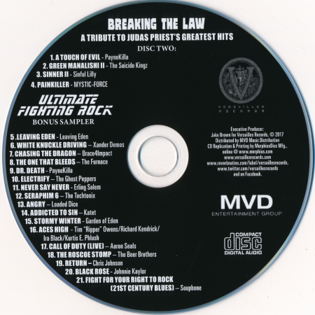 VA - Breaking The Law: A Tribute To Judas Priest's Greatest Hits