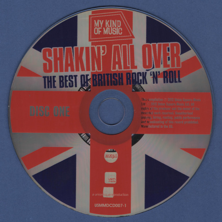 VA - Shakin' All Over: The Best Of British Rock 'N' Roll