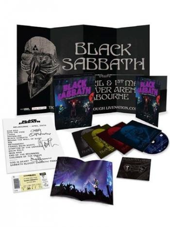 Black Sabbath Live Gathered In Their Masses Deluxe