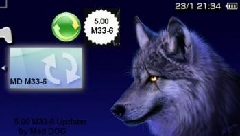 [PSP] DC8 by Mad DOG + 5.00 M33-6 Updater 2010