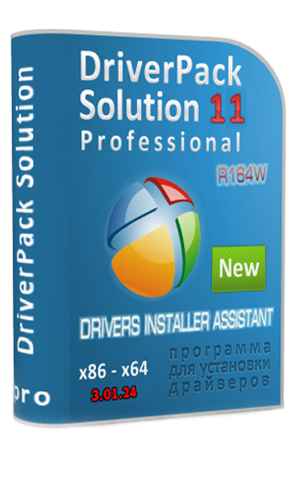 DriverPack Solution 11 R164W & Drivers Installer Assistant 3.01.24 11