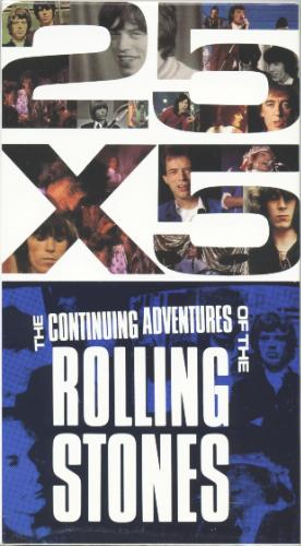THE ROLLING STONES-25x5 The Continuing Adventures of the Rolling Stones dvd 2