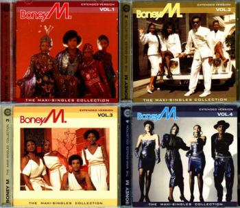 Boney M. - The Maxi-Singles Collection. Volume 1-4