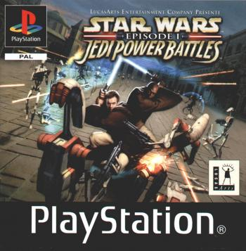 [PSone] star wars jedi power battles (2001)