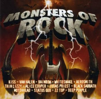 Various Artists Monsters of Rock - 3CDs Of Classic Rock
