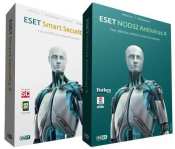 ESET NOD32 Antivirus & ESET Smart Security 4.2.67.10 Final 32/64-bit