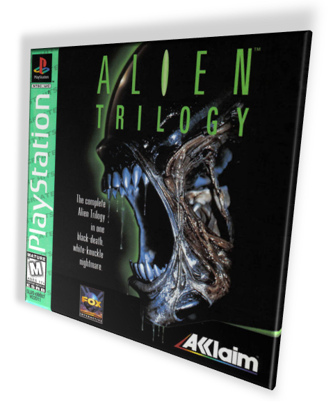 [PSХ-PSP] Alien Trilogy + Resurrection [2in1] [1997-2000, компиляция