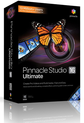 Pinnacle Studio 16.0.075 + Content VPP + Adorage VPP + Training