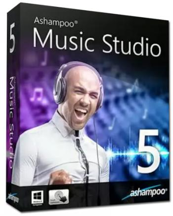 Ashampoo Music Studio 5 5.0.4.6 RePack + Portable