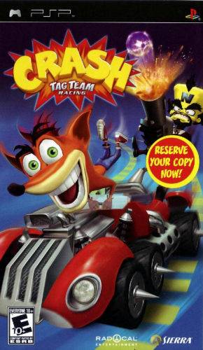 [PSP] Crash Tag Team Racing