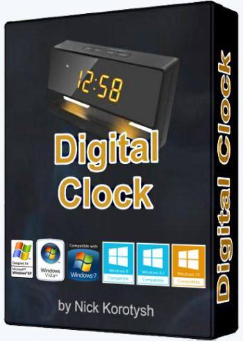 Digital Clock Stable + Portable 4.5.2