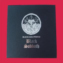 Black Sabbath - Black And Purple 2CD