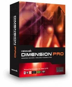 Cakewalk - Dimension Pro 1.5 (2 DVD)