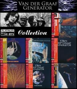 Van Der Graaf Generator - Albums Collection 1970-1977 (7 Mini LP Platinum SHM-CD)