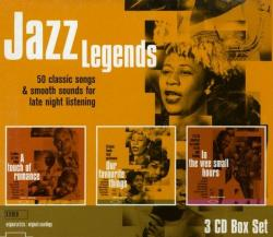 VA - Jazz Legends. 50 classic songs & smooth sounds for late night listening