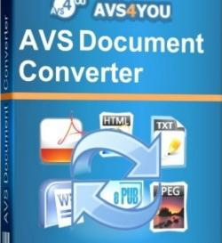 AVS Document Converter 2.2.7.222 Final + Portable