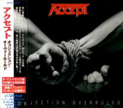Accept - Objection Overruled (Japan 1st Press)