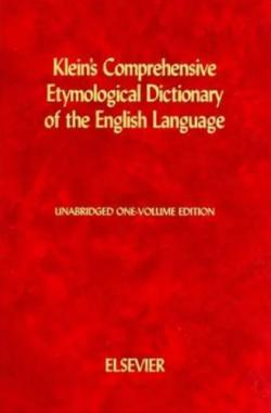 Полный этимологический словарь английского языка / A Comprehensive Etymological Dictionary of the English Language