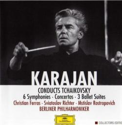 Berlin Philharmonic Orchestra - Karajan Conducts Tchaikovsky (8 CD)