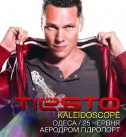 Tiesto - Kaleidoscope World Tour @ Odessa, Open-Air