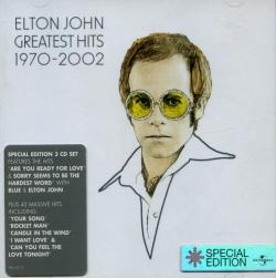 Elton John - Greatest Hits 1970 - 2002 (Special Edition 3CD Set)