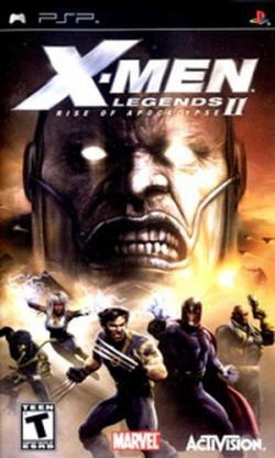 [PSP] X-Men Legends II: Rise of Apocalypse [RUS]