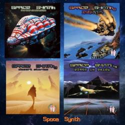 VA - Space Synth 1 - 4