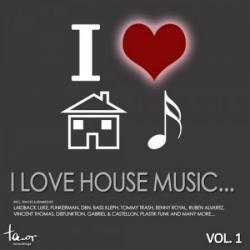 VA - I Love House Music: Vol 1