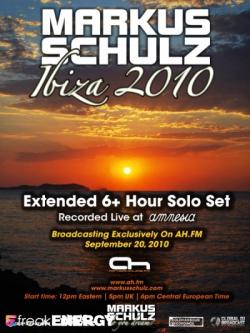 Markus Schulz - Solo Set from Amnesia in Ibiza Summer
