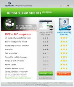 Outpost Security Suite Free 7.0.4 32-bit/64-bit