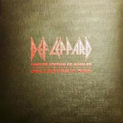 Def Leppard - Limited Edition CD Singles Collector's Box