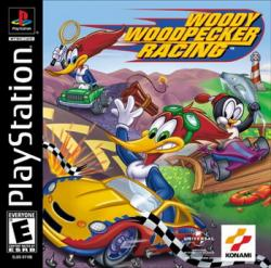 [PSX-PSP] Woody Woodpecker Racing [RUS]