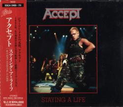 Accept - Staying A Life (Japan 1st Press)