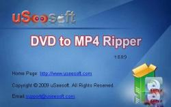 USeesoft DVD to MP4 Ripper 1.5.0.9