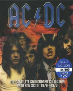 AC/DC - The Complete Soundboard Collection With Bon Scott 1976 - 1979