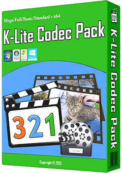 K-Lite Codec Pack 9.7.5 Mega/Full/Standard/Basic + x64 32/64-bit