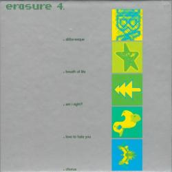Erasure - 4. Singles (5CD Box Set, Remastered)