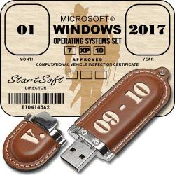 Windows Operating Systems Set Release By StartSoft 09-10 2017 [Ru]