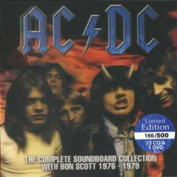 AC/DC - The Complete Soundboard Collection With Bon Scott 1976 - 1979 (14CD)