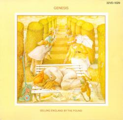 Genesis - Selling England By The Pound (Japan 1st press, 1987)
