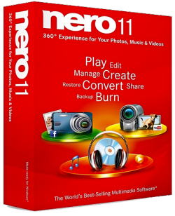 Nero 11.2.00400 Full RePack + Toolkit + Creative Collections Pack 11