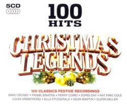 VA - 100 Hits Christmas Legends (5CD)