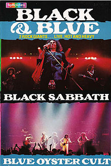 Black Sabbath - Black Blue Joint Tour